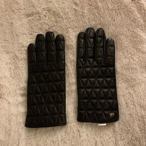 NEw without tag leather gloves.size S